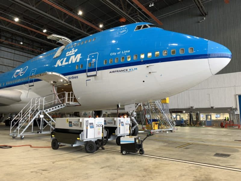 ITW GSE 7400 eGPU Schiphol Airport Hangar 11 KLM, Amsterdam, The Netherlands