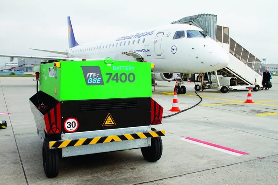 ITW GSE 7400eGPU Frankfurt Airport