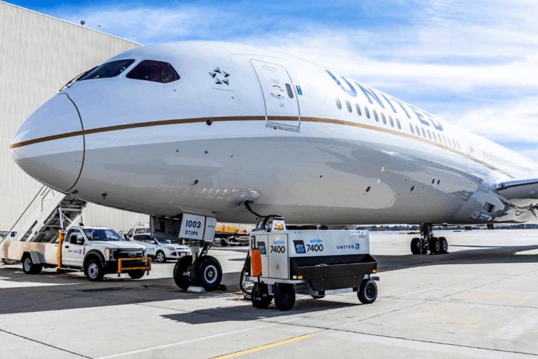 ITW GSE 7400 battery, eGPU, 7400 battery GPU United Airlines