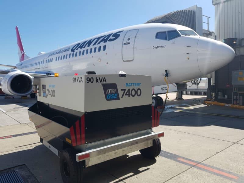 ITW GSE 7400 eGPU – Melbourne Airport, Australia