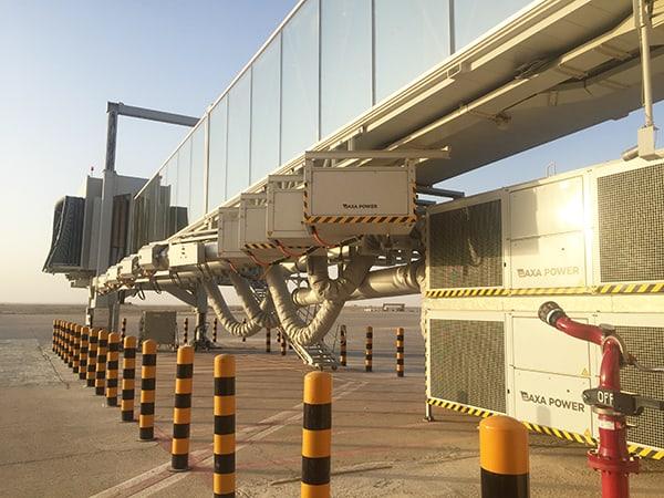 AXA Power PCA & Power Coils in Riyadh Airport