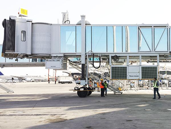 AXA Power PCA & Power Coil in Riyadh Airport