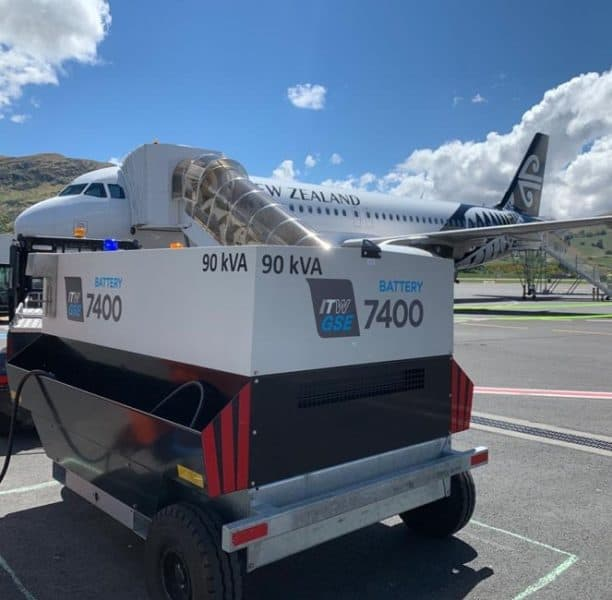 ITW GSE 7400 eGPU in Queenstown Airport, New Zealand