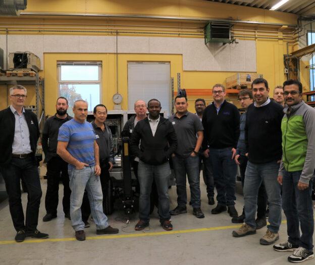 Technical Training battery powered 7400 eGPU Service the eGPU