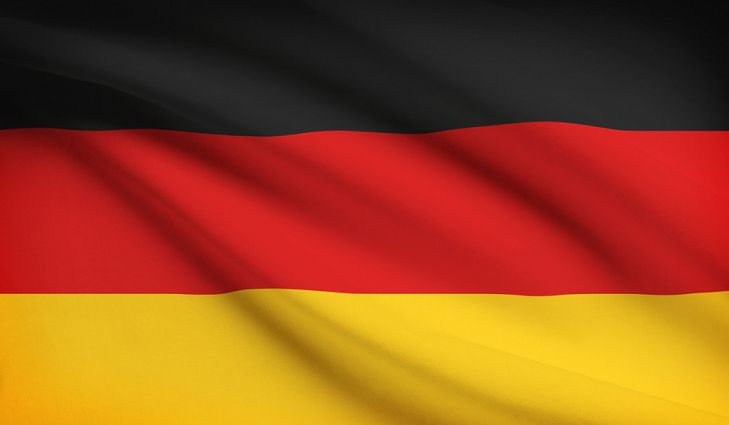 German Flag Deutch