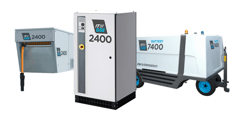 ITW GSE - Ground Power Units, Pre-Conditioned Air Units, Cables and