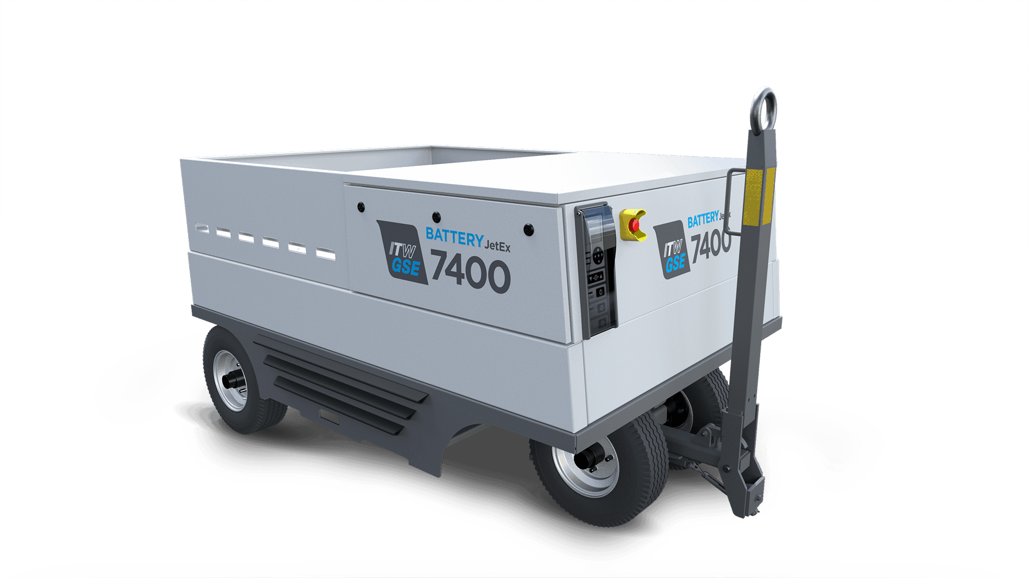 itwgse,itw gse, itw gse 7400 jetex, battery driven ground power unit, battery driven gpu, gpu, mobil gpu, itw gse 7400 jetex, itwsge7400jetex