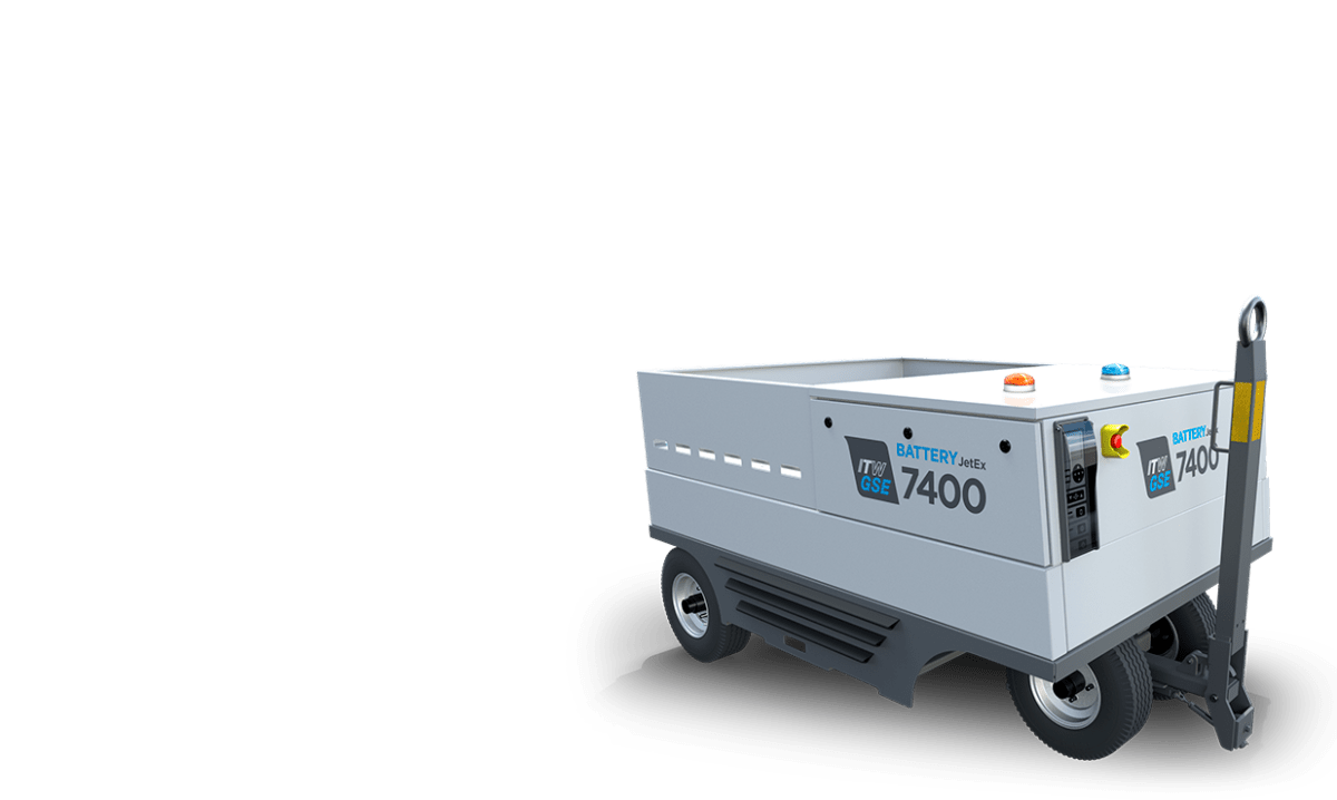 itw gse 7400 JetEx battery driven ground power unit