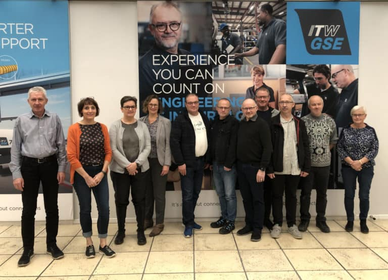 work environment itwgse, itw gse, itwgse healthy company, ergonomics, course participants, itw gse odense