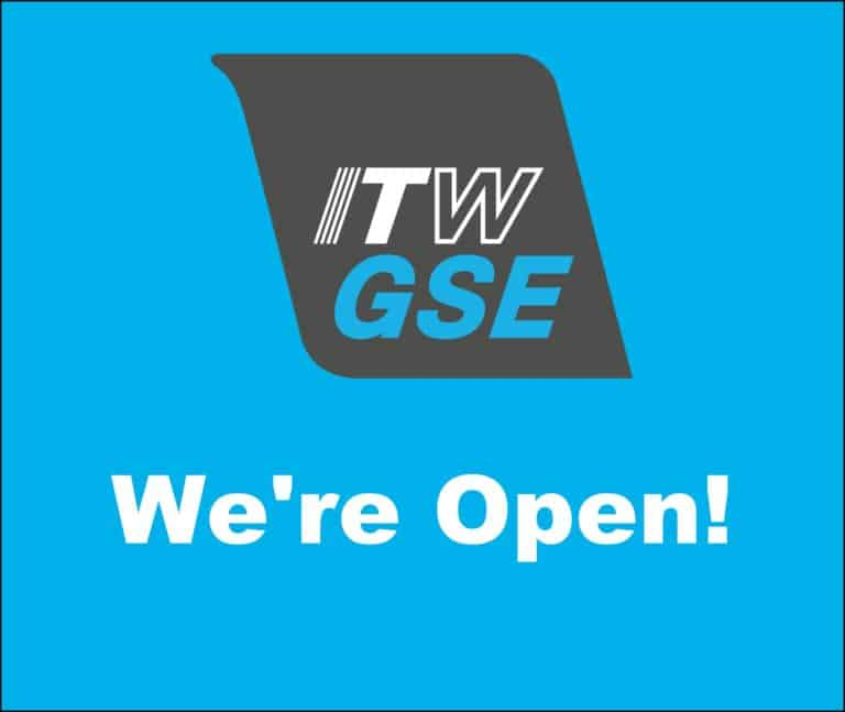 itwgse, itw gse, covid-19, covid 19, corona virus, we are open, we re open, ground power unit, gpu, ground support equipment, GSE