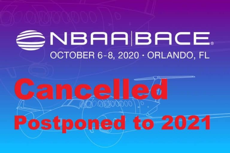 NBAA 2020 is cancelled
