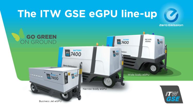 eGPU family of battery driven ground power units