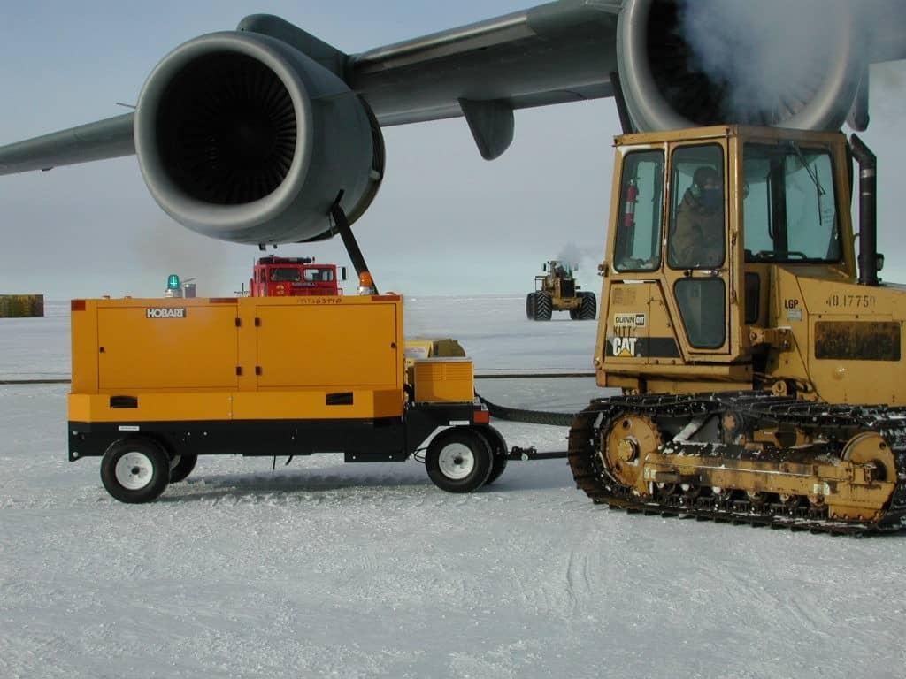 hobart gpu in the snow