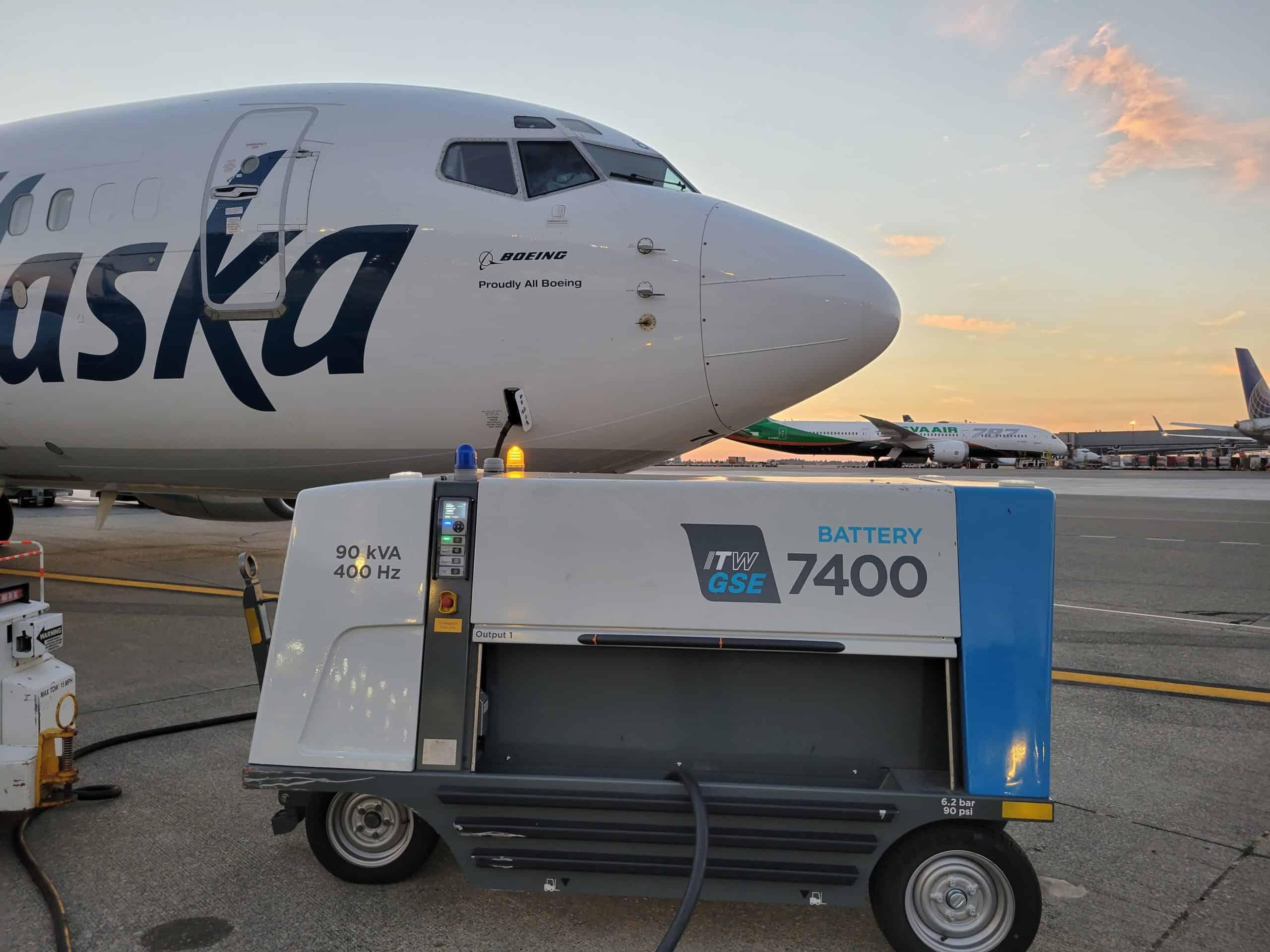 7400 eGPU Alaskan Airlines