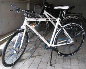 Photo of the AXA Company Bike